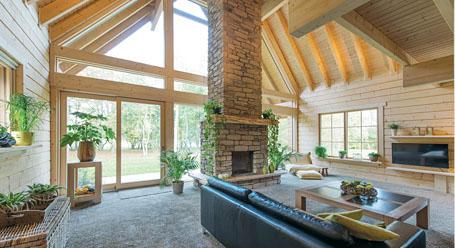 Pourquoi choisir une maison en bois massif for Construction bois massif