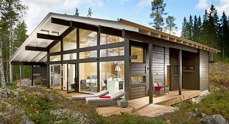 Votre r sidence secondaire en bois massif for Wochenendhaus modern bauen